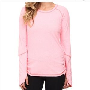 """Lucy """"Dashing Stripes"""" Performance Long Sleeve Top"""